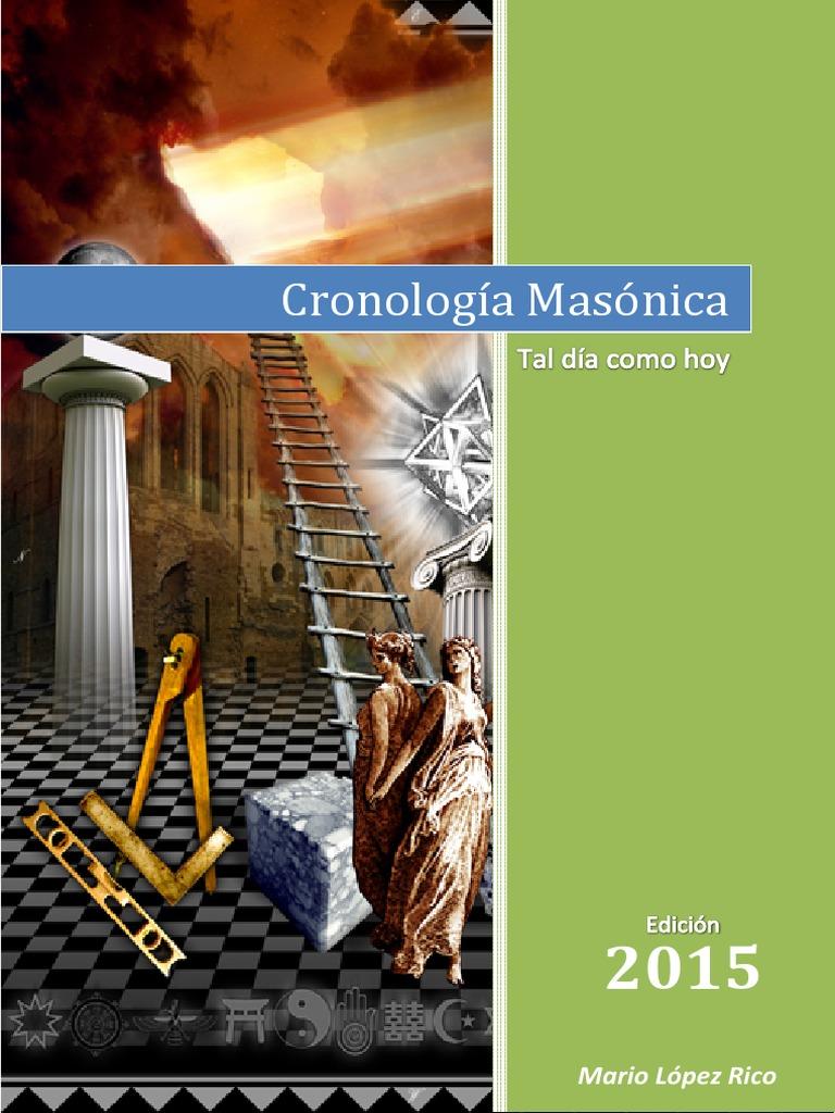Cronología Masonica 1ªed (2015)