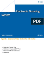 Parts Sale - Electronic Ordering
