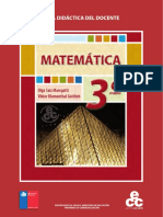 Matematica Docente 3º MEDIO