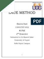 laue method assignment.docx