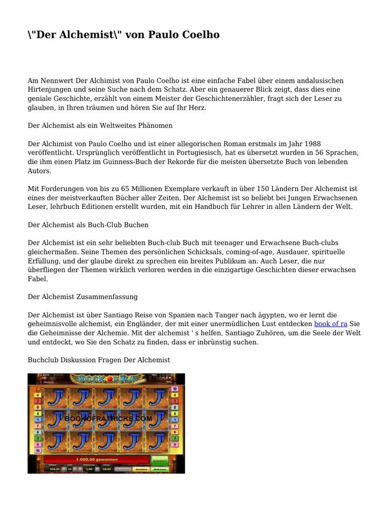 Paulo Coelho Der Alchimist 5 Unfassbare Lektionen Aus Für