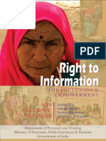 Rti Fellowship Report 2011