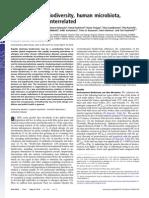 12 PNAS Environmental Biodiversity, Microbiota, Allergy