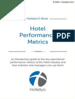 Hotel Performance Metrics EBook