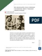 Nietzsche y Freud, Negociación, Culpa y Crueldad - Las Pulsiones y Sus Destinos, Eros y Thanatos -Agresividad y Destructividad