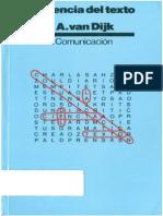 Van Dijk Teun - La Ciencia Del Texto