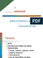 Base Datos Relacionales