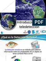 SERVIR Introduccion Teledeteccion