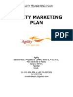 66853465 Agility Marketing Plan