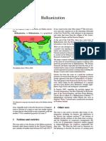Balkan Ization