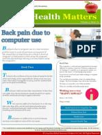 Good Health Matters - Oct'14