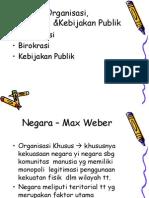 Han Organisasi Kebijakan Publik Birokrasi