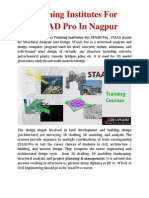 Training Institutes for STAAD Pro in Nagpur