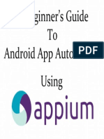 Appium for Android