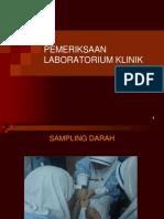 Pemeriksaan Darah Laboratorium Klinik