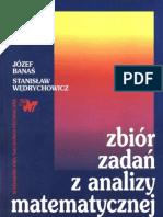 Zbiór zadań z analizy matematycznej (Wędrychowicz)