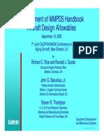 Aging Aircraft 2003 MMPDS Presentation