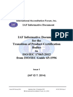 IAF ID Transition to ISO 17065 MOL Rev 8131 v2clean With Final Edit Final