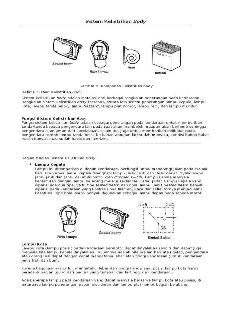 Sistem Kelistrikan Bodydoc