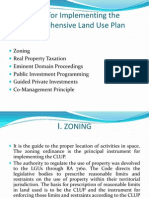 Tools for Implementing the Comprehensive Land Use Plan
