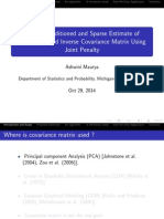 A Joint Convex Penalty for Inverse Covariance matrix estimation