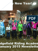 Ridgefield Riding Academy January 2015 Newsletter