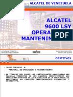 Alcatel 9600 LSY Operation (Spa).ppt