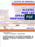 Alcatel 9600 LSY Operation (Spa).ppt