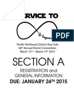 district convention 2015 registration packet