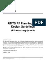 UMTS RF Planning Guidelines v3.7 Ericsson