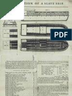 Description of a Slave Ship by James Phillips [London, 1789]