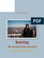 Revisiting the Society of the spectacle in the Post-9.11 World by Miroslav Kosović [2011]