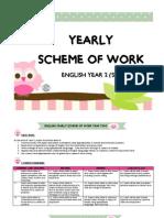 Yearly Scheme of Work y2 2015