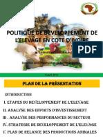 Presentation Politique Elevage