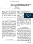 Efficieant Synthesis of 1, 5- Benzothiazepine Derivatives Using Benzyl Tri Ethyl Ammonium Chloride in Ethonol