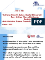 What Theory is Not _ Sutton and Staw (1995)