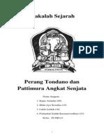 Jalannya Perang Tondano I Dan Tondano II