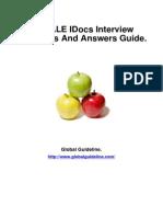 SAP ALE IDocs Job Interview Preparation Guide