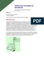 NTP 474 Plataformas en Autoelevadores