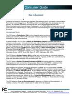 FCC Comment Guide