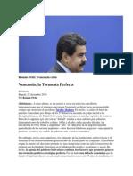 Venezuela. La Tormenta Perfecta
