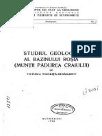 Studiul Geologic  Muntii Padurea Craiului Vol 3-1966