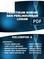 laporanakhirpraktikumkorosidanperlindunganlogam-140219074544-phpapp01