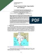 Renewable energy scenario in india
