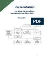 Reporte de Inflacion Octubre 2014