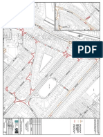 Proposed road marking changes in Garden Village (Map 1)