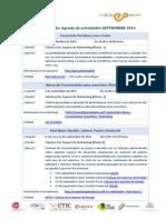 Agenda Oviedo Emprende - Septiembre 2014