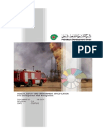 HSE Specification - Fire and Explosion Risk Management