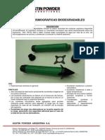 Cargas Sismicas Biodegradables