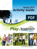 Brookhaven Parks and Rec Spring 2015 Activity Guide